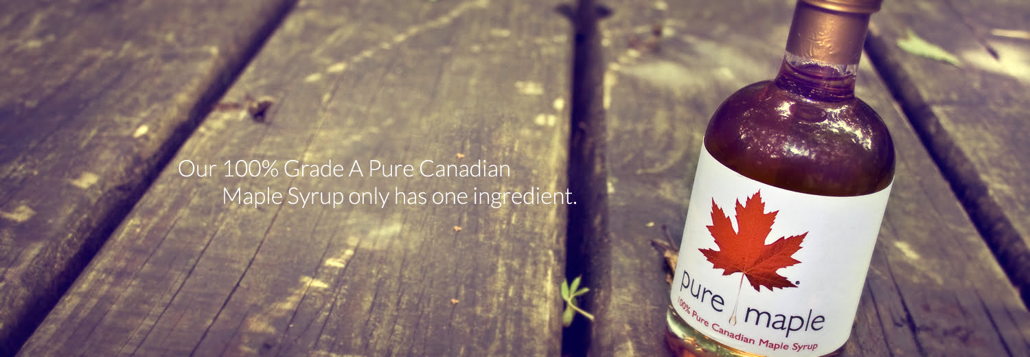 canadian pure maple syrup