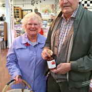 Customers at Pyne's of Somerset