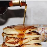 Pure Maple Syrup Pancakes