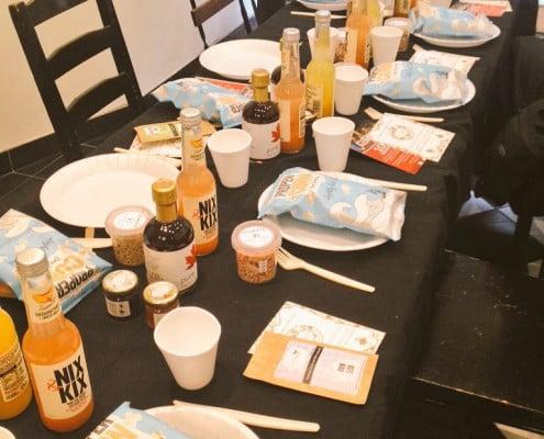 Pancake Day table