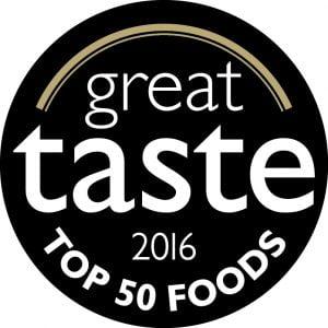 Great Taste Award 2016 - Top 50 Foods