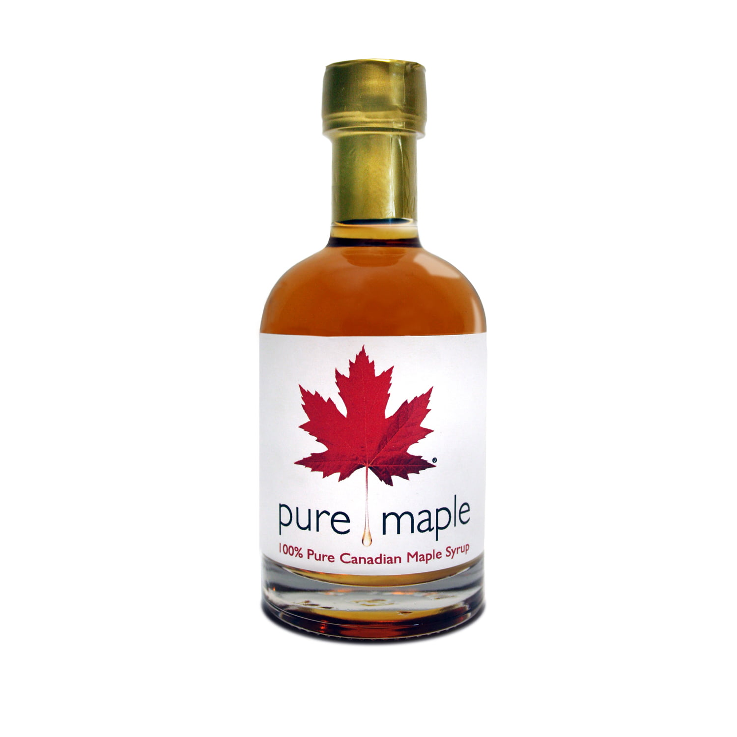 bottle of Golden Delicate Taste Pure Maple Syrup