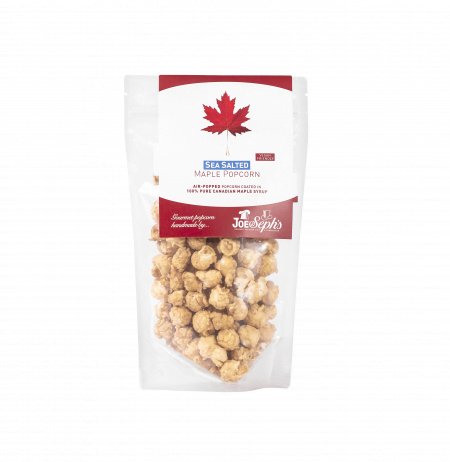 bag of Maple Sea Salted Popcorn