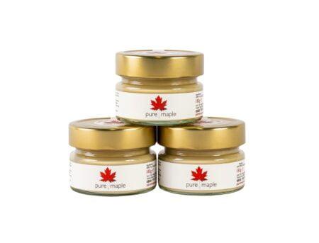 Pure Maple Butter Trio - 3 jars of non-dairy spread