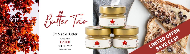 Butter Trio Offer